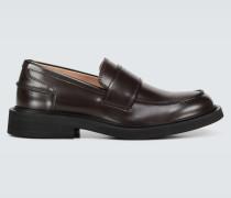 Loafers aus Leder
