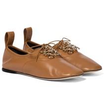 Schnürschuhe Anagram aus Leder