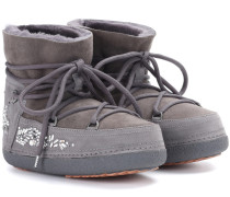 Ankle Boots Classic Low aus Veloursleder