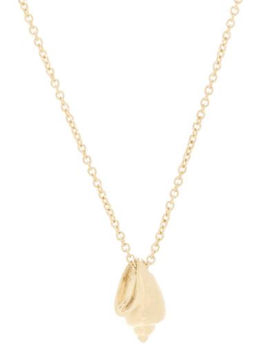 Halskette Conque d'or aus 14kt Gelbgold