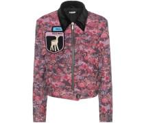 Verzierte Jacke aus Jacquard