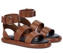 Sandalen Pipe aus Leder