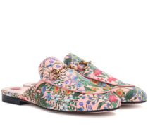 Slippers Princetown mit New-Flora-Print
