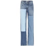High Rise Straight Jeans CKJ 030