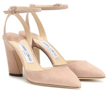 Pumps Micky 85 aus Veloursleder