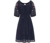 Kleid Monae aus Baumwolle mit Stickerei