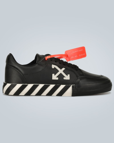 Sneakers Low Vulcanized aus Leder