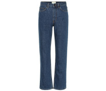High-Rise Straight Jeans Christie