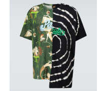 Paula's Ibiza Asymmetrisches T-Shirt mit Print