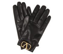 Handschuhe VLOGO aus Leder