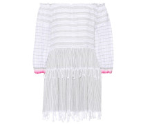Off-Shoulder-Kleid aus Baumwolle