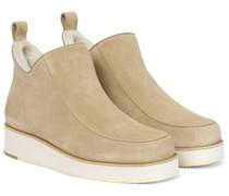 Ankle Boots Harry aus Veloursleder