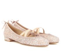 Exklusiv bei mytheresa.com – Ballerinas Bolshoi mit Glitter