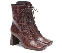 Ankle Boots Claude aus Leder