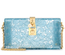 Exclusive to mytheresa.com – Dolce Box lace clutch