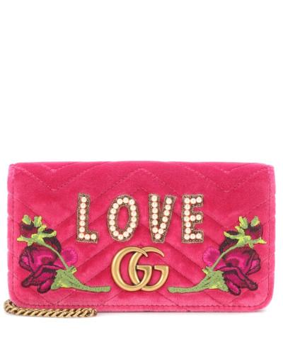 Billig Perfekt Gucci Damen Crossbody-Tasche GG Marmont Mini Günstig Kaufen Mit Mastercard Original-Verkauf Online Gutes Verkauf Günstiger Preis Vermarktbare Online vb8EM