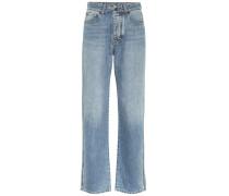 Mid-Rise Straight Jeans Arizona