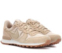 Sneakers Internationalist aus Veloursleder