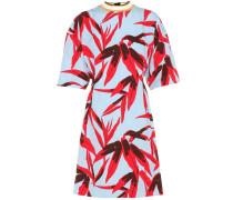 Kleid aus einem Baumwoll-Leinen-Seidengemisch