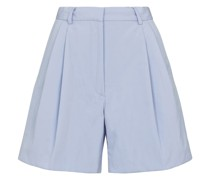 High-Rise Shorts aus Baumwolle
