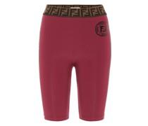 Shorts FF aus Jersey