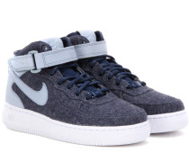 Sneakers Air Force 1 '07 aus Filz mit Leder