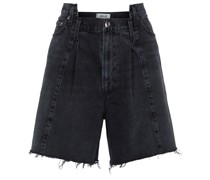 Jeansshorts Pieced Angled