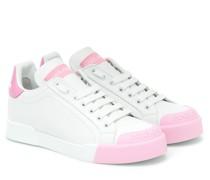Sneakers Portofino aus Leder
