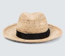 Hut aus Raffiabast