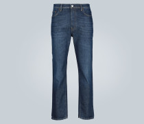 High Rise Slim-Fit Jeans River