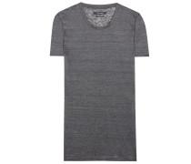 T-Shirt Madras aus Leinen-Jersey