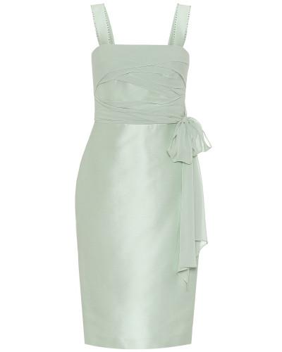Kleid Bardies aus Seiden-Georgette