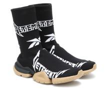 X Reebok High-Top-Sneakers Metal Sock Runner