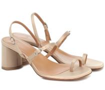 Sandalen Abla aus Satin