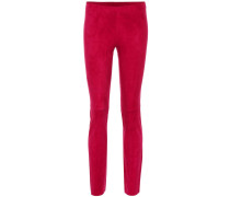 Leggings Jacky aus Veloursleder
