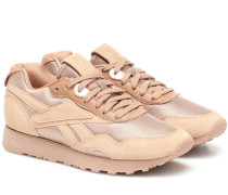 Sneakers Rapide mit Veloursleder