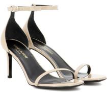Sandalen Jane 80 aus Lackleder
