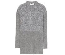 Pullover aus einem Schurwoll-Mohair-Gemisch