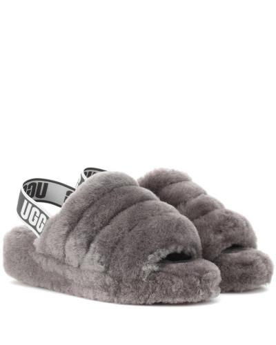 Sandalen Fluff Yeah aus Shearling