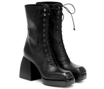 Ankle Boots Bulla aus Leder