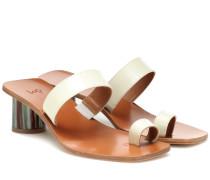 Sandalen Tere aus Lackleder
