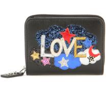 Portemonnaie Rive Gauche Love aus Leder