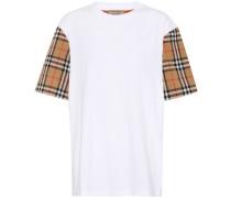 T-Shirt Vintage Check aus Baumwolle