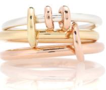 Ring Raneth aus 18kt Roségold, 18kt Gelbgold und 925er Sterlingsilber