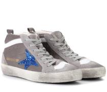 Exklusiv bei mytheresa.com – Sneakers Mid Star aus Leder