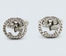 Manschettenknöpfe GG aus Silber