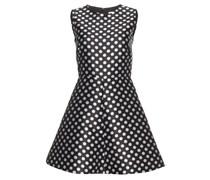 Kleid mit Polkadot-Print