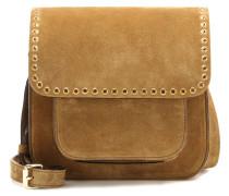 Crossbody-Tasche Mela aus Veloursleder