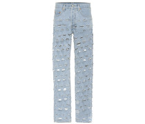X Levi's® Distressed Jeans