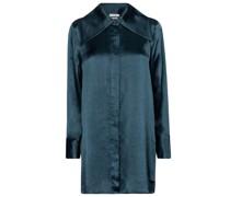 Oversize-Bluse aus Satin